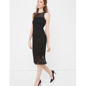 🆕 WHBM Mixed Lace Sheath Dress
